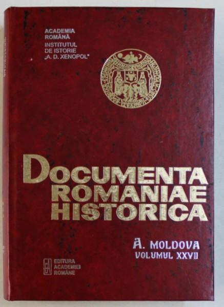 DOCUMENTA ROMANIAE HISTORICA - B. TARA ROMANEASCA , VOLUMUL XXXVII ( 1652) , volum intocmit de VIOLETA BARBU ...FLORINA MANUELA CONSTANTIN , 2006