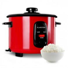 Klarstein KLARSTEIN OSAKA, roșu, vas de orez, 500 W, 1,5 litri, funcția de păstrare la cald