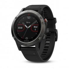 Smartwatch Garmin Fenix 5 Slate Gray / Black Band