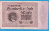 (1) BANCNOTA GERMANIA - 100.000 MARK 1923 (1 FEBRUARIE 1923)