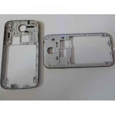 Carcasa Mijloc Samsung i9505 Galaxy S4 Negru Orig SWAP foto