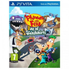 Phineas & Ferb Day of Doofenshmirtz PS Vita