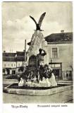 Targu Mures (Muras) Monumentul ostasului roman,dupa depunere coroane,varianta1