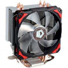Cooler CPU ID-Cooling SE-214, Ventilator 120mm, 4x Heatpipe-uri Cupru