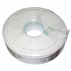 CABLU COAXIAL RG 6U CU 100M, Cabletech