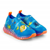 Cumpara ieftin Pantofi Sport LED Bibi Roller Celebration Marine 25 EU, Albastru, BIBI Shoes
