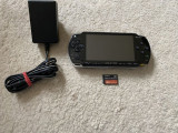 PSP Modat Permanent card 8gb 70 jocuri pe el,NFS,GodOfWar,Minecraft,Mario