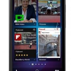 Telefon Mobil BlackBerry Z30, Procesor Dual Core 1.7 GHz Qualcomm MSM8960T Pro, Super AMOLED 5inch, 2GB RAM, 16GB Flash, 8 MP, 4G, Wi-Fi, BlackBerry 1