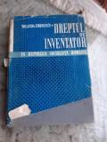 DREPTUL DE INVENTATOR IN RSR - YOLANDA EMINESCU