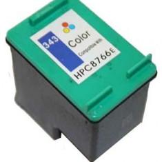 Cartus HP 343 C8766EE color compatibil, Multicolor
