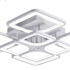 Resigilat Lustra LED Square Design SLC Patrata 8 cu Telecomanda