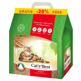 Cat´s Best Original 4,3 kg + 20 % GRATIS litieră