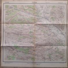 Filiasul/ harta Serviciul Geografi al Armatei 1939