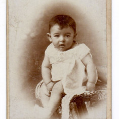 Fotografie CDV Kissling & Co Ploesci Ploiesti - Copil 1899