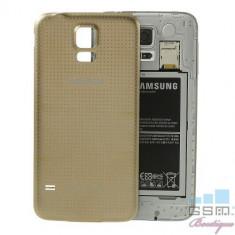 Capac Baterie Spate Samsung Galaxy S5 G900 Auriu foto