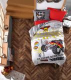 Set de lenjerie de pat pentru copii, Cotton Box, bumbac ranforce, 160 x 240 cm, 129CTN3031, Multicolor