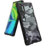 Husa Xiaomi Mi Note 10Mi Note 10 Pro Ringke FusionX Camo Negru