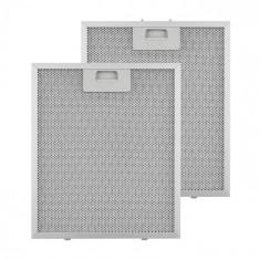 Klarstein KLARSTEIN, filtru de grăsime, filtru de schimb, aluminiu, 27,1 x 31,8 cm, 2 bucăți, accesorii