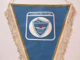 Fanion (vechi) fotbal - FK ZELJEZNICAR SARAJEVO (fosta Iugoslavie-actual Bosnia)