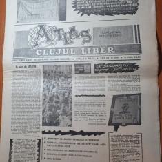 ziarul atlas clujul liber 24 martie 1990