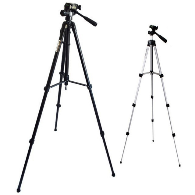Pachet Trepied foto telescopic Weifeng WT-3540 universal 61-157 cm + Trepied...