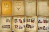 A245-Album reclame tigarete vechi Istoria Germaniei 1936 in imagini foto.