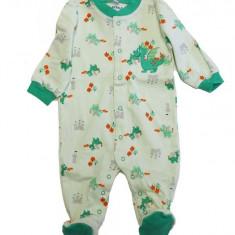 Salopeta / Pijama bebe cu dragoni Z72, 1-2 ani, 1-3 luni, 12-18 luni, 6-9 luni, 9-12 luni, Din imagine