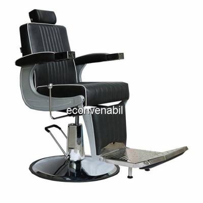 Scaun Salon Frizerie Coafor Reglabil Rotativ 3316 foto