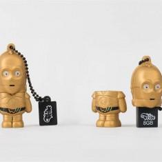 """Pendrive Tribe """"Star Wars"""" C-3PO 8GB USB2.0"""