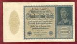 Bancnota Germania  -  REICHSBANKNOTE   - 10.000 MARK  1922 - serie rosie #2