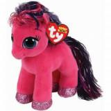 Jucarie de plus Beanie Boos RUBY - pink pony/ponei roz, 15cm, TY 36665