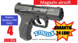 Pistol Walther 4 Joules+1000 bile 0,36 airsoft+10CO2 BlowBack