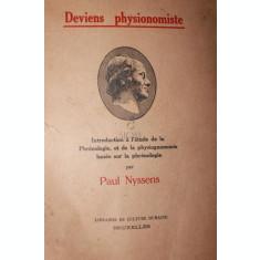 DEVIENS PHYSIONOMISTE - PAUL NYSSENS