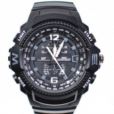 Ceas de mana barbati sport, cu sistem analog, negru - MF9005QN