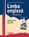 Cumpara ieftin Limba engleza. Front Runner 2. Limba moderna 2. Manual pentru clasa a X-a/Ecaterina Comisel, Doina Milos, Ileana Pirvu, Corint