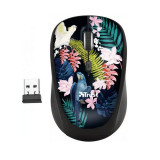 Cumpara ieftin Mouse Trust Yvi, Wireless 2.4 Ghz, 1600 DPi Reglabil, Receiver USB, 4 Butoane, Senzor Optic, Multicolor