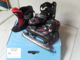 Patine gheata reglabile 35-38EU FILA X ONE ICE blk red