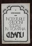 INCEPUTURILE MEDICINII SOCIALE IN ROMANIA G.BANU -VICTOR SAHLEANU