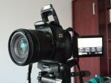 Canon EOS 250D touchscreen + trepied hama Star 61