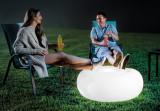 Taburet gonflabil Intex, cu 12 LED-uri, 6 culori, USB, 86 x 33 cm