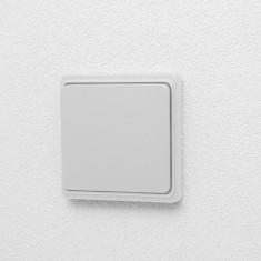 Intrerupator de perete fara fir - KINETIC – alb mat Best CarHome