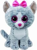 Jucarie de plus TY Boos 42 cm - Kiki pisica gri