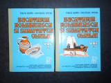 TUDOR MANTA, GHEORGHE STEFAN - BUCATARIA ROMANEASCA SI SANATATEA OMULUI 2 volume