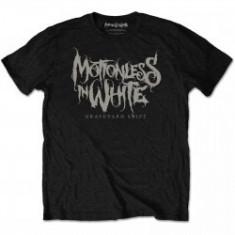 Tricou Unisex Motionless In White: Graveyard Shift foto