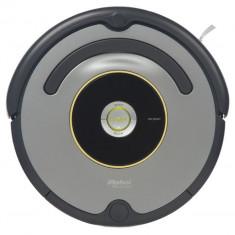 Robot de aspirare iRobot Roomba 616, Antiangle, Wall Follow, Program SPOT, Argintiu/Negru