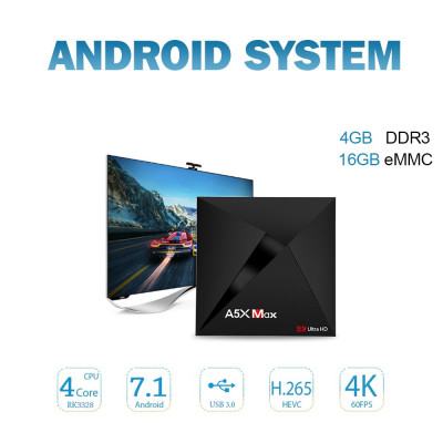 Smart Android TV Box A5X MAX foto