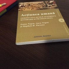 ACTIUNEA UMANA- PERSPECTIVA SCOLII AUSTRIECE. ROTHBARD SI PRAXEOLOGIA