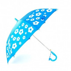 Umbrela copii imprimeu Floral Albastru