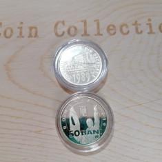 "Monedă 50 bani proof: ""30 Ani Revoluția"""