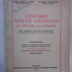Cantarile Sfintei Liturghii si cantari la cateheze - N. LUNGU , A. UNCU